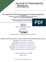 Steffek2003_legitimation of International Governance_discourse Approach