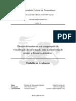 Desenvolvimento de um componente de visualização da informação para a plataforma de ensino à distancia Amadeus
