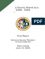 Ventura County (CA) Civil Grand Jury