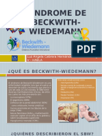 cartilla Sindrome Beckwith Wiedemann