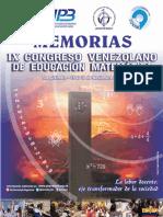 Memorias IX Covem 2016