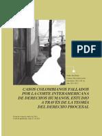 Casos Colombianos Fallados Por La Corte Interamericana