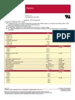 Exemplo de 746 Datasheet Material