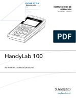 Manual de Instrucciones HandyLab-100_pH-Meter_Spanish
