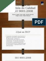 Sistema de Gestión de Calidad ISO 9001