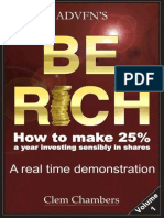ADVFN's Be Rich_ How to Make 25 - Clem Chambers