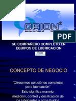 Orion - Sistemas de Lubricaciòn