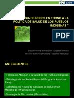 Estrategia de Redes Para La Salud Pueb Indigenas