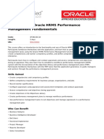 r12 x Oracle Hrms Performance Management Fundamentals