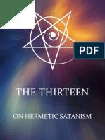 The Thirteen. On Hermetic Satanism (1).pdf