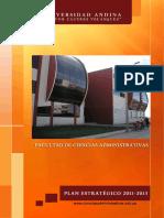 Plan Estrategico Ciencias Administrativas