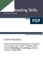Basic Reading Skills
