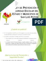 LEY DE PREVENCIÓN Y SEGURIDAD ESCOLAR DEL ESTADO.ppt