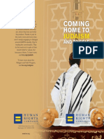 coming home judaism