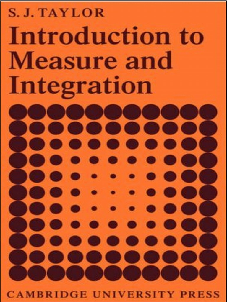 Introduction to measure and integration s j taylor measure introduction to measure and integration s j taylor measure mathematics lebesgue integration fandeluxe Gallery
