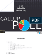 GALLUP POLL - Colombia - Febrero 2017