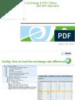 PPV Exchange Std SAP Process.ppt
