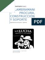 Alcances Del Servicio - Específico Lambramani