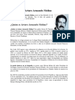Biografía de Arturo Armando Molina