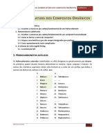 05 Nomenclatura Dos Compostos Orgânicos QII 2012
