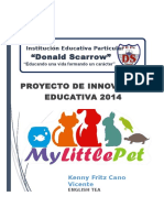 Proyecto de Ingles My Little Pet
