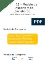Tema 11 – Modelo de Transporte y de Transbordo