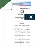 2015 16 GENNAIO CIMITERO ORDINAZA URGENTE E CONTIGIBILI Sito Istituzionale Della Giustizia Amministrativa - Document Viewer
