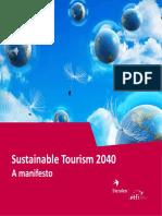 2014 ETFI Sustainable Tourism 2040