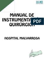 Manual de Instrumentación Quirúrgica Web (Actualizado Mayo15)