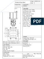 Cylinder Valve PN16 DN80
