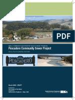 2008 Pescadero Community Sewer Project