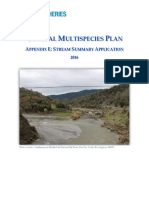 2009 Coastal Multispecies Plan Appendix E