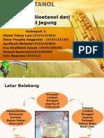 Bioetanol Dari Tongkol Jagung Fix
