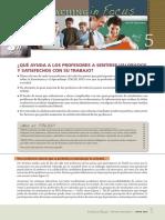 Teaching in Focus Brief 5 Spanish