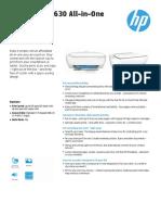 HP Deskjet 3630 Brochure