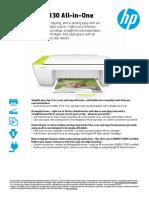 HP Deskjet 2130 Brochure