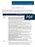 KFF Summary American Health Care Act