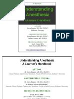 Understanding Anesthesia - McMaster