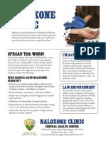 Naloxone Clinic - Jefferson County Department of Health