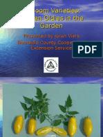 Heirloom Varieties