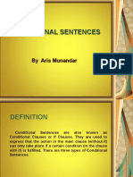 Conditional Sentences ( ARIS MUNANDAR )