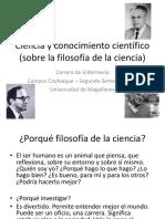 01. Introducción. Ciencia y Conocimiento Científico