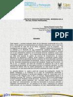 El Curriculo y El Pei Incidencia en La Vida Del Futuro Profesional