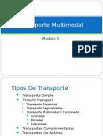 Modulo 6 Transporte Multimodal