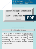 Chap 00 - Introduction and Orientation to ES 84 Numerical Methods