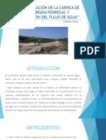 Caracterización de La Cuenca de La Quebrada