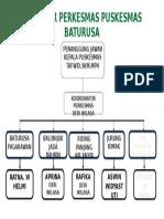 Contoh Struktur Organisasi Perkesmas Puskesmas Baturusa