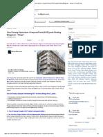 Cara Pasang Alumanium Composit Panel (ACP) Pada Dinding Bangunan - Tahap 1 _ Proyek Sipil