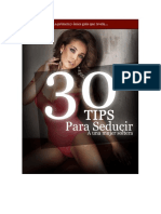 Seduccion Tips
