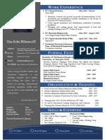 Cover Letter & Daftar Riwayat Hidup (CV) Jakarta Inggris Update 2015